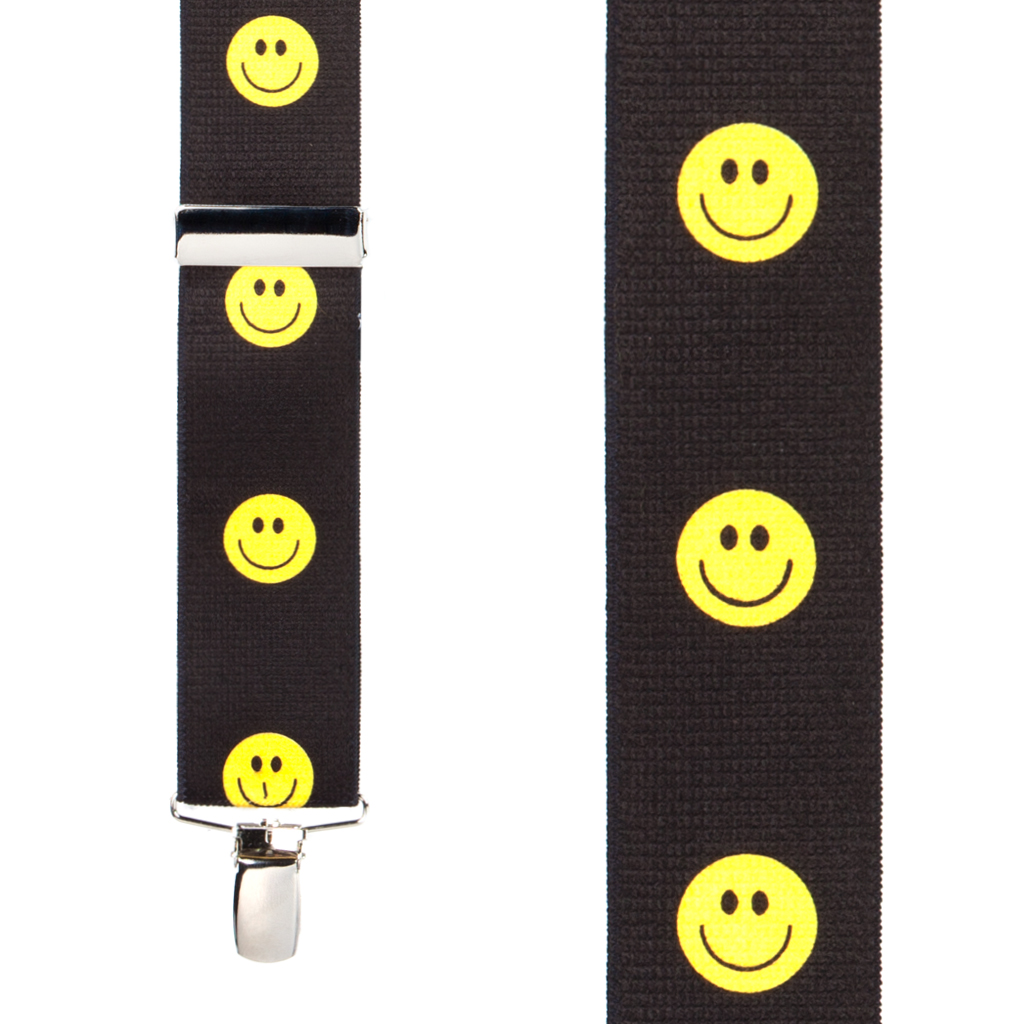Happy Face Suspenders