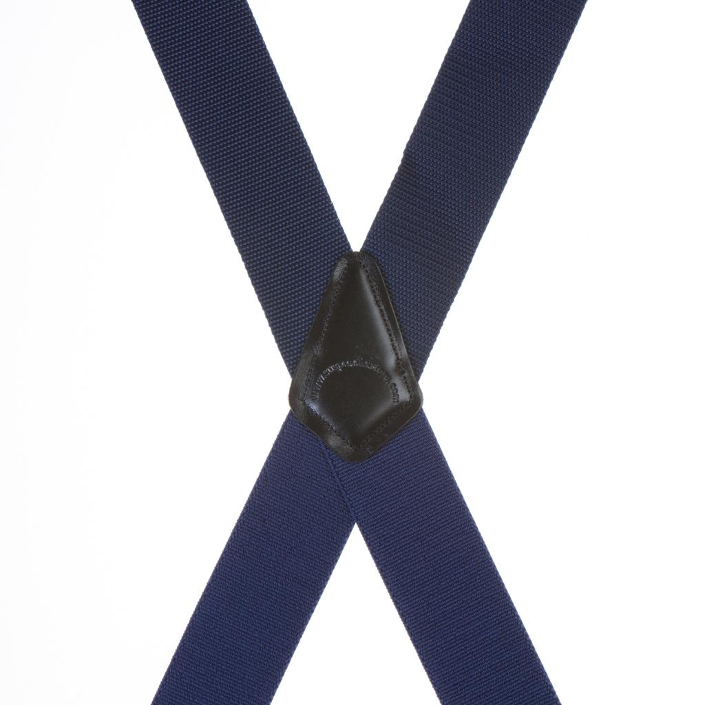 Heavy Duty Work Suspenders - NAVY BLUE