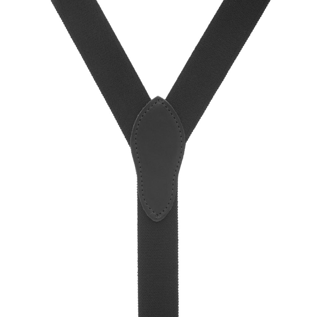 Rugged Comfort Suspenders - Belt Loop BLACK