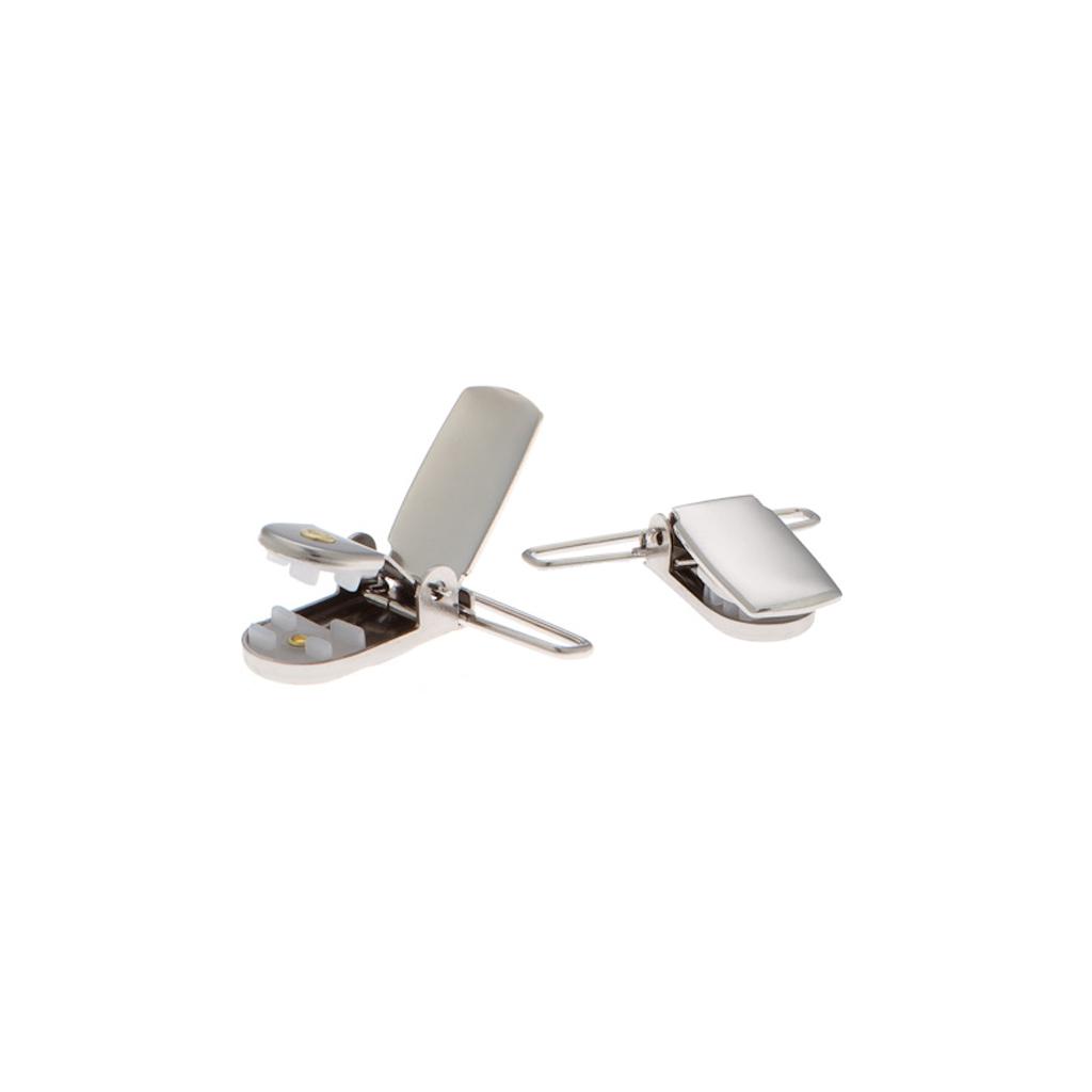 1 Inch Wide Clip Suspenders (Y-Back) - LIGHT GREY