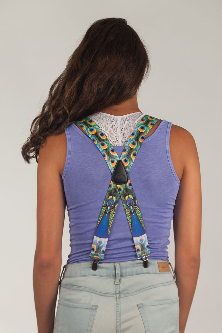 Peacock Suspenders