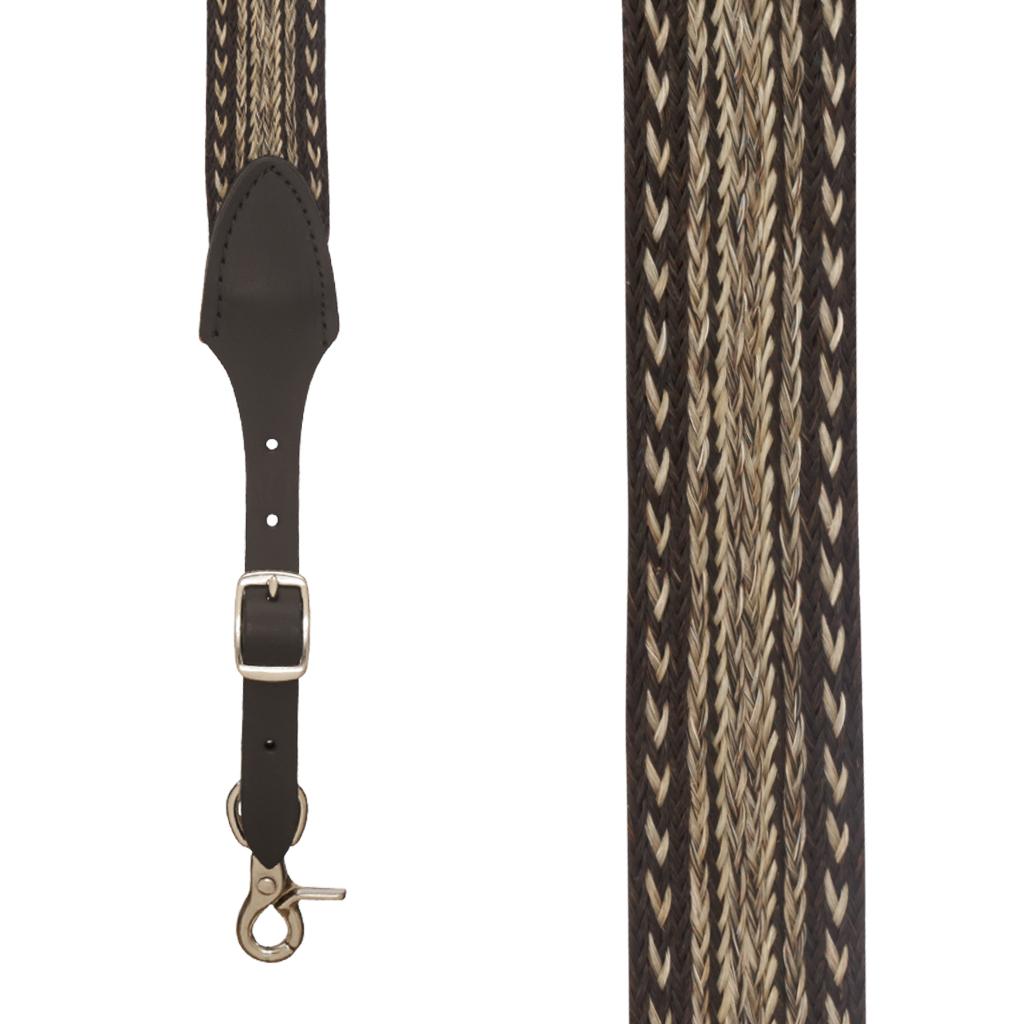 Horsehair Suspenders - EARTHWEAVE