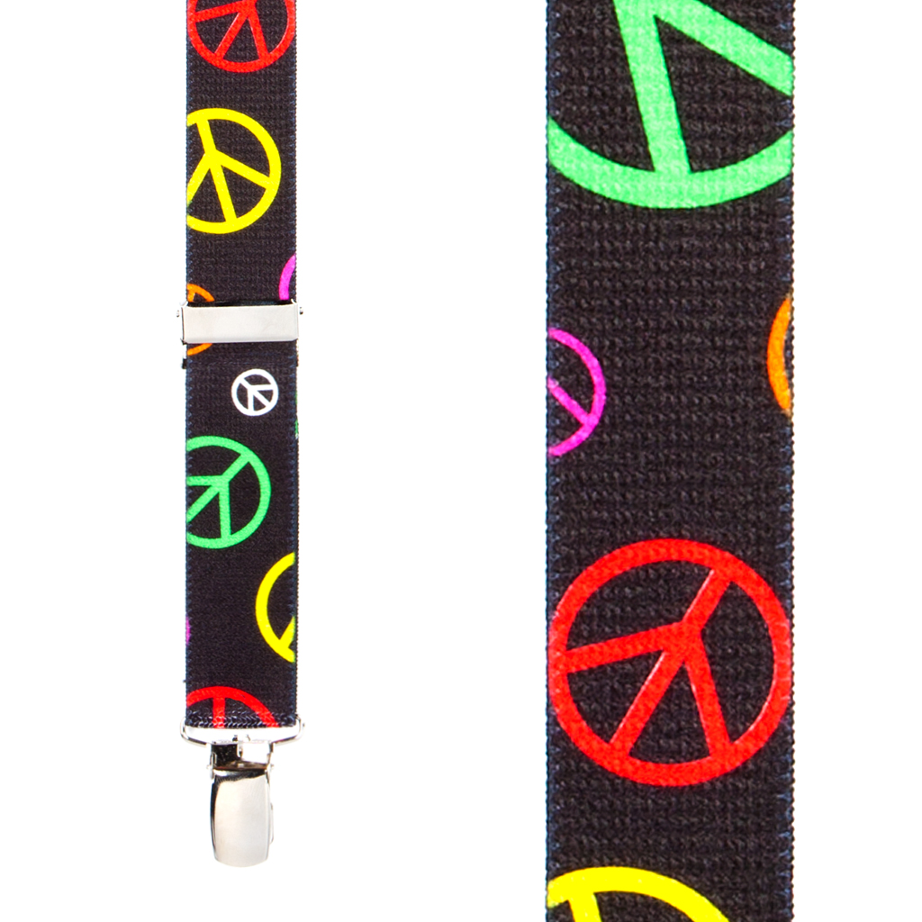Peace Suspenders for Kids