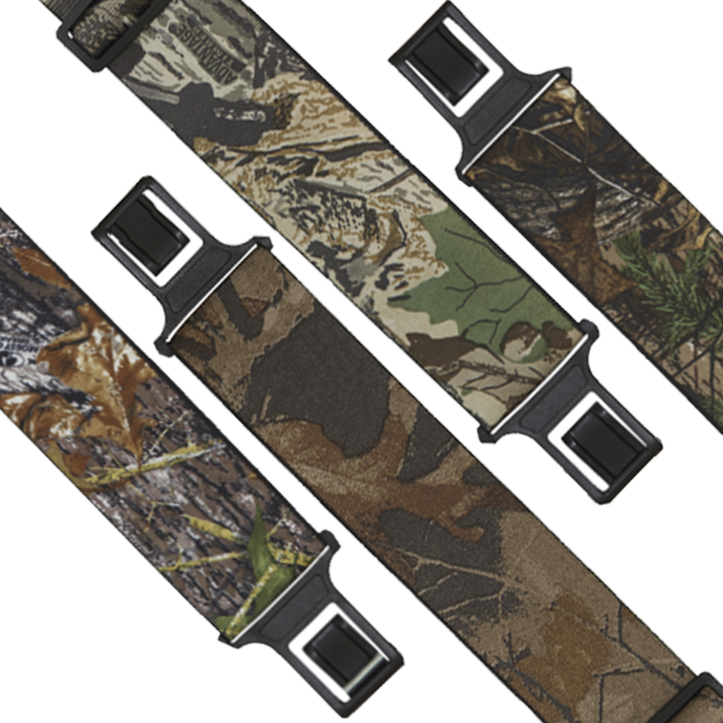 Perry Belt Clip Suspenders - Camouflage
