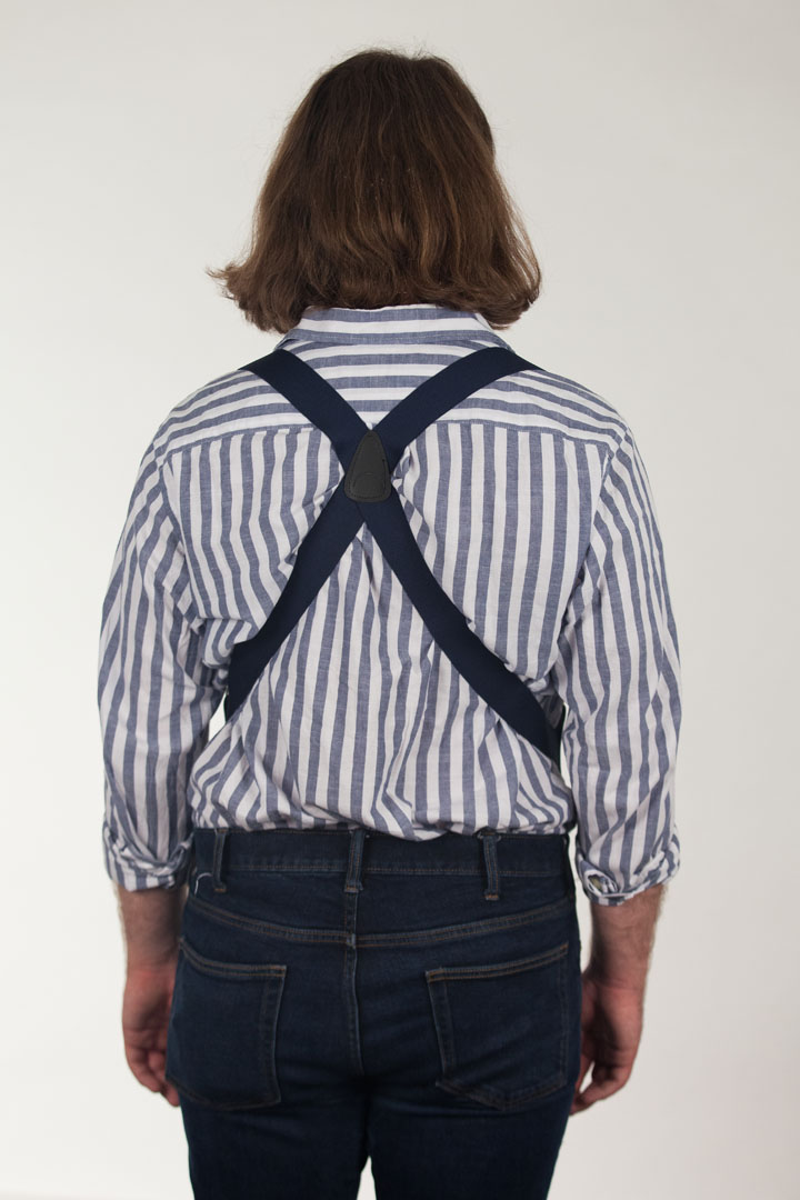 Side Clip Suspenders - 1.5 Inch Wide