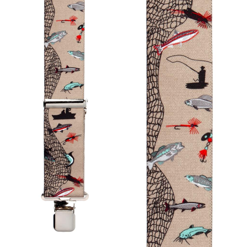 Fisherman Suspenders 2 Inch Wide - Construction Clip