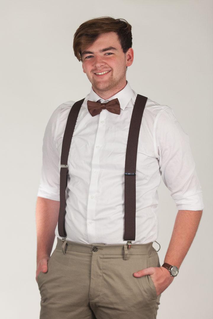 Bow Tie - Pre-Tied BROWN