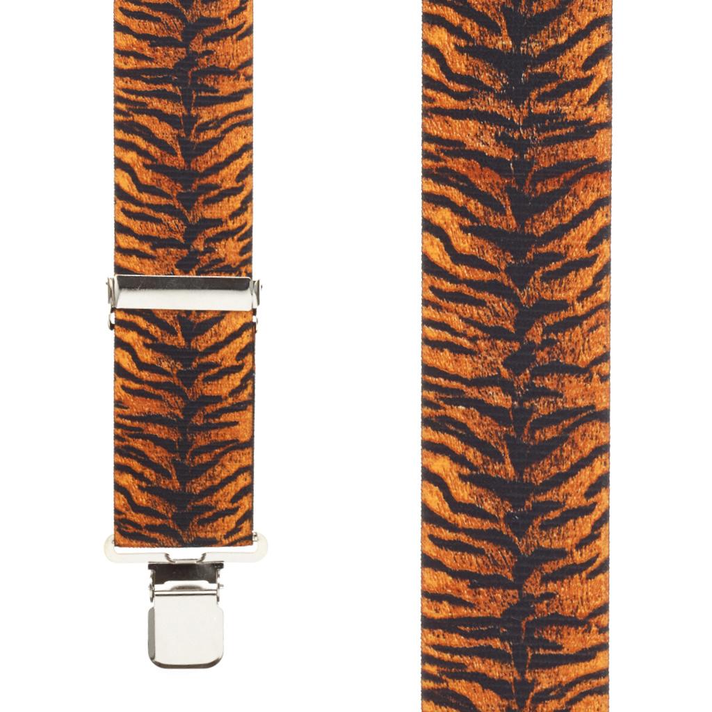 Tiger Print Suspenders