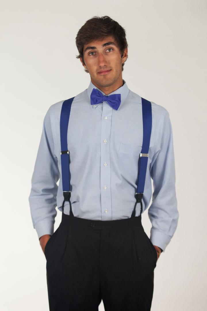 Bow Tie - Pre-Tied ROYAL BLUE
