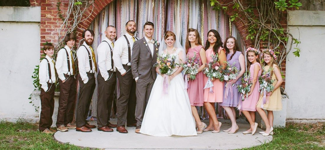 Wedding Suspenders