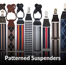 Patterned Suspenders