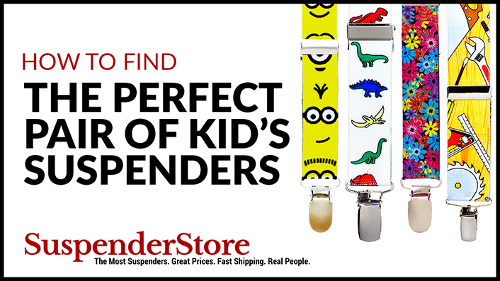 How to Find The Perfect Pair of Suspenders For Kids