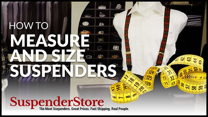How to Measure and Size Suspenders
