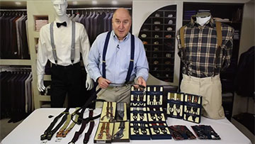 Picking the Perfect Pair of Convertible Suspenders