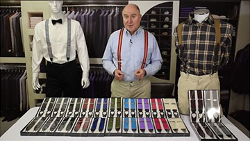 How to Pick the Perfect Pair of Grosgrain Suspenders