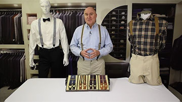 Expanding Your Wardrobe by Adding Striped Suspenders