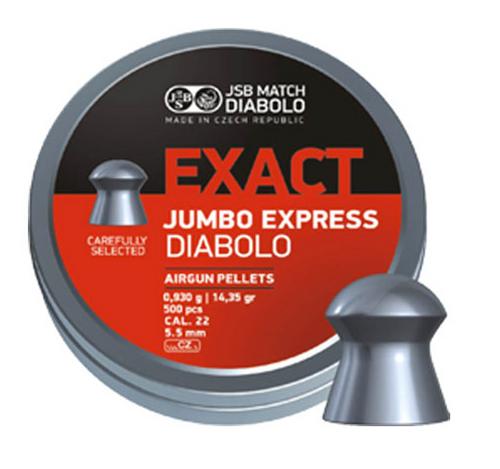 JSB Jumbo Express .22 | 500 pcs | 14.35 gr