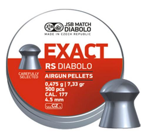 JSB Exact RS .177 | 500 pcs | 7.33 gr