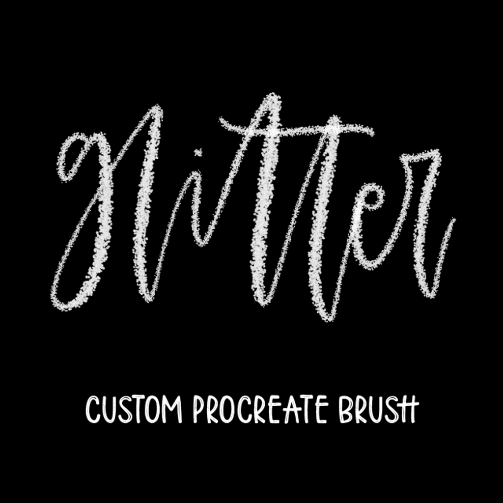 Glitter Brush