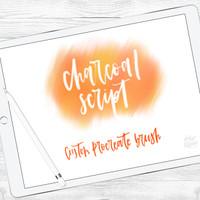 Charcoal Script Brush