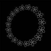 Simple Flower Wreaths