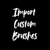 Import Custom Brushes