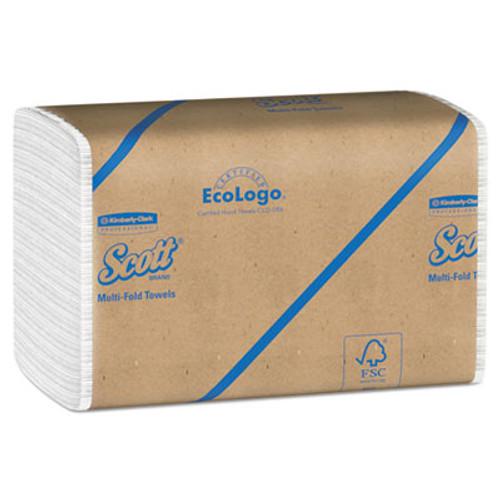 Scott Multi-Fold Towels, Absorbency Pockets, 9 1/5 x 9 2/5, 250/Pack, 16 Pack/Carton (KCC 01804)