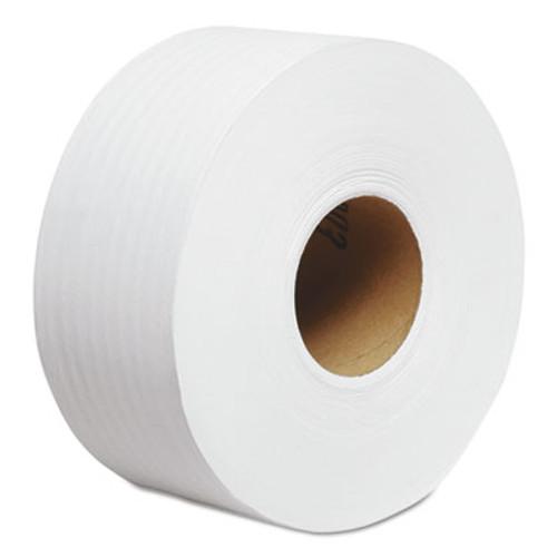 """Cottonelle JRT Jr. Roll Tissue, 2-Ply, 7.9""""dia, 750ft, 12/Carton (KCC 07304)"""