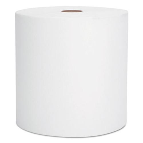 "Scott Hard Roll Towels, 1.5"" Core, 8 x 1000ft, White, 12 Rolls/Carton (KCC 01000)"