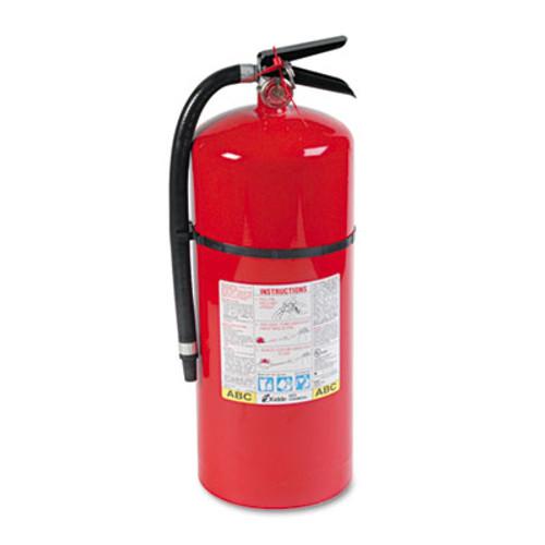 Kidde ProLine Pro 20 MP Fire Extinguisher, 6-A:80-B:C, 195psi, 21.6h x 7 dia, 18lb (KDD 466206)