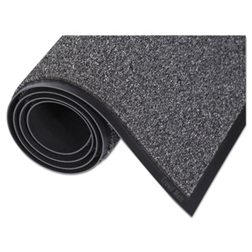 Crown Walk-A-Way Indoor Wiper Mat, Olefin, 36 x 60, Gray (CRO WA35 GRA)