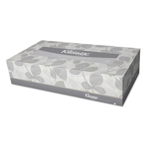 Kleenex White Facial Tissue, 2-Ply, 125/Box, 12/Carton (KCC 03076)