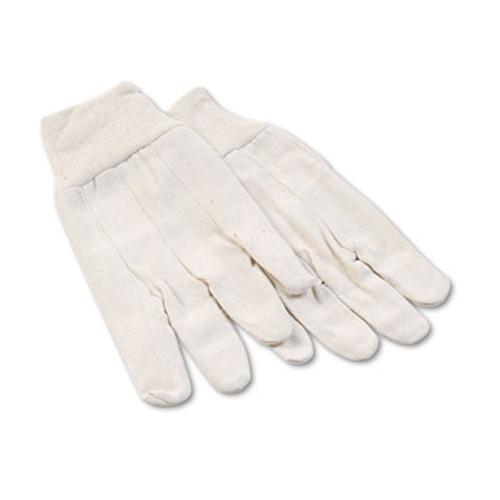 Boardwalk 8 oz Cotton Canvas Gloves, Large, 12 Pairs (BWK 7)