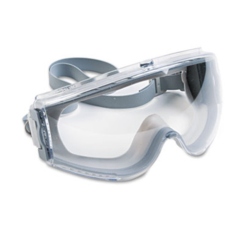 Honeywell Uvex Stealth Antifog, Antiscratch, Antistatic Goggles, Clear Lens, Gray Frame (UVX S3960C)