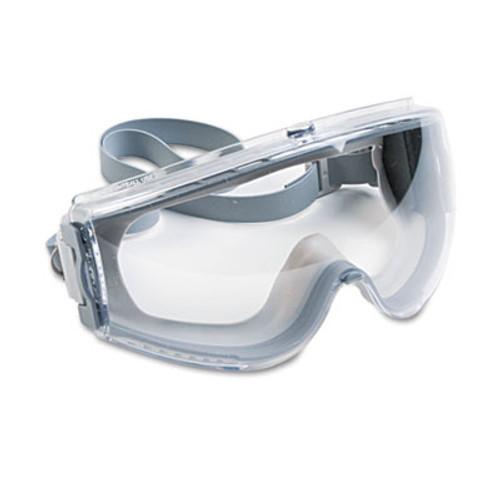Honeywell Uvex Stealth Antifog, Antiscratch, Antistatic Goggles, Clear Lens, Gray Frame (UVX S3960C)