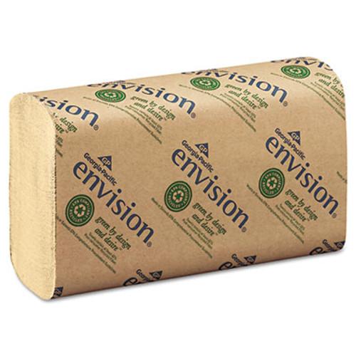 Georgia Pacific Multifold Paper Towel, 9 1/5 x 9 2/5, Brown, 250/Pack, 16 Packs/Carton (GPC 233-04)