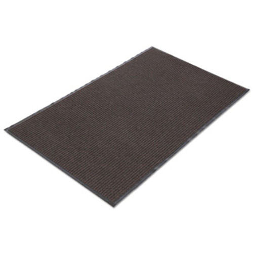 Crown Needle Rib Wipe & Scrape Mat, Polypropylene, 36 x 60, Brown (CRO NR35 BRO)
