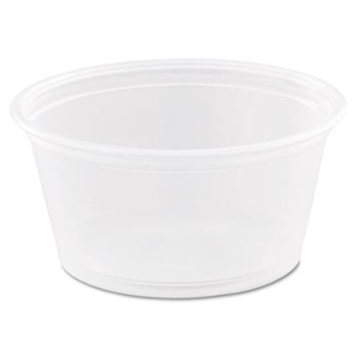 Dart Conex Complements Portion/Medicine Cups, 2oz, Clear, 125/Bag, 20 Bags/Carton (DCC 200PC)