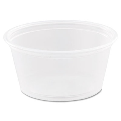 Dart Conex Complements Portion/Medicine Cups, 2oz, Clear, 125/Bag, 20 Bags/Carton (DCC 200PC)