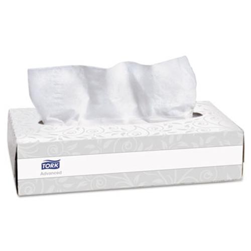 Tork Advanced Extra Soft, 2-Ply Facial Tissue, White, 100/Box, 30 Boxes/Carton (SCA TF6810)