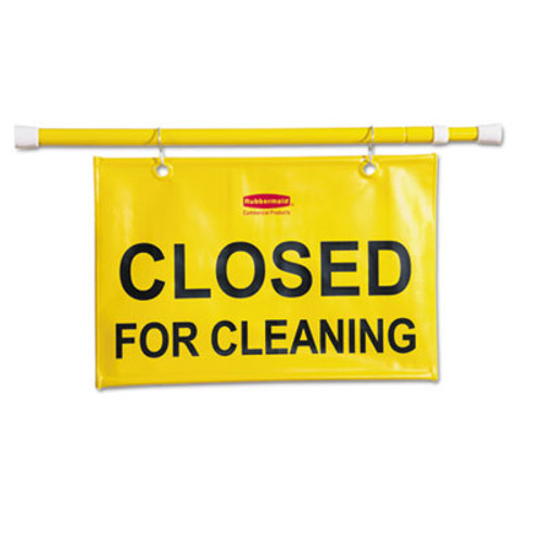 Rubbermaid Site Safety Hanging Sign, 50w x 1d x 13h, Yellow (RCP 9S15 YEL)