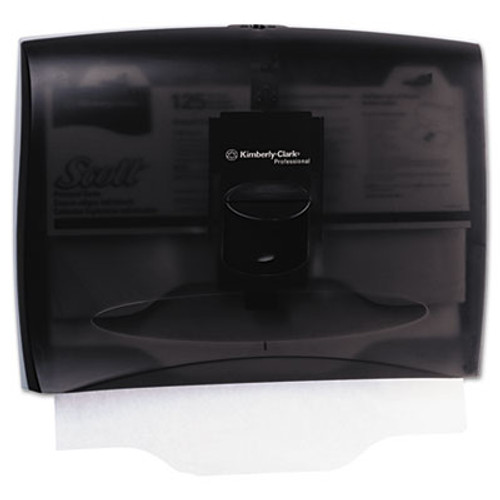 Kimberly-Clark Professional* Personal Seats Toilet Seat Cover Dispenser, 17 2/5 x 3 1/3 x 13, Smoke/Gray (KCC 09506)