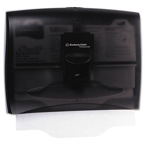 Kimberly-Clark Professional* Personal Seats Toilet Seat Cover Dispenser, 17 2/5 x 3 1/3 x 13, Smoke/Gray (KCC 09506)