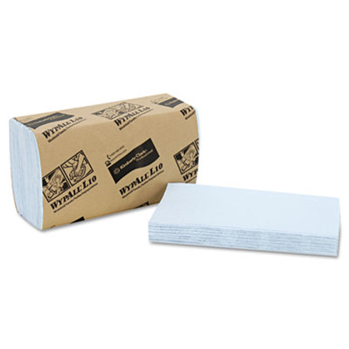 WypAll* L10 Windshield Wipers, Banded, 2-Ply, 9 3/10 x 10 1/2, 140/Pack, 16 Packs/Carton (KCC 05120)
