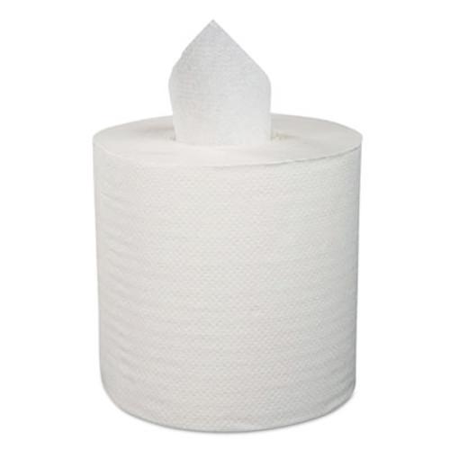 "Boardwalk Center-Pull Hand Towels, 2-Ply, Perforated, 7 7/8"" x 10"", 600/Roll, 6 Rolls/Ctn (BWK 6400)"