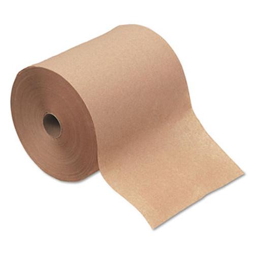 "Boardwalk Hardwound Paper Towels, 1-Ply, Natural, 8"" x 600ft, 12 Rolls/Carton (BWK 6260)"