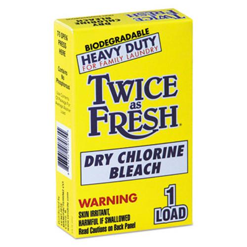 Twice as Fresh Heavy Duty Coin-Vend Powdered Chlorine Bleach, 1 load, 100/Carton (VEN 2979646)