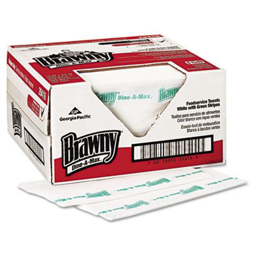 Brawny All Purpose Food Prep and Bar Towel, 1/4-Fold, 150/Carton (GPC 294-16)