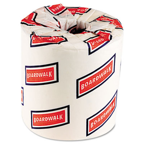Boardwalk Two-Ply Toilet Tissue, White, 4 1/2 x 3 3/4 Sheet, 500 Sheets/Roll, 96 Rolls/CT (BWK 6150)