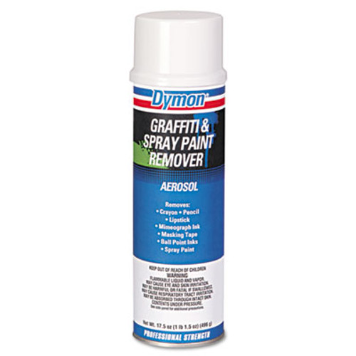 Dymon Graffiti/Paint Remover, Jelled Formula, 17.5oz Aerosol (DYM 07820)